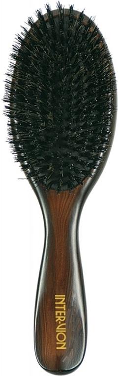 Szczotka do włosów, 499537, drewniana - Inter-Vion