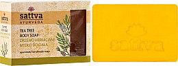 Kup Mydło w kostce do ciała Drzewo herbaciane - Sattva Ayurveda Tea Tree Body Soap