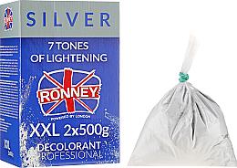 Kup PRZECENA! Puder rozjaśniający włosy o 7 tonów - Ronney Professional Dust Free Bleaching Powder Classic *