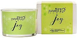 Kup Organiczna świeca zapachowa Kokos i mięta - PuroBio Home Organic Joy
