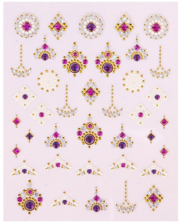 Dekoracyjne naklejki na paznokcie - Peggy Sage Decorative Nail Stickers Luxury