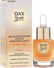 Kup Skoncentrowane krople samoopalające do twarzy i ciała - DAX Sun Self-Tanning Concentrated Drops