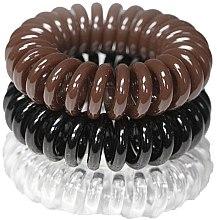 Kup Gumki do włosów, 3,5 cm - Ronney Professional S16 MAT/MAT/MET