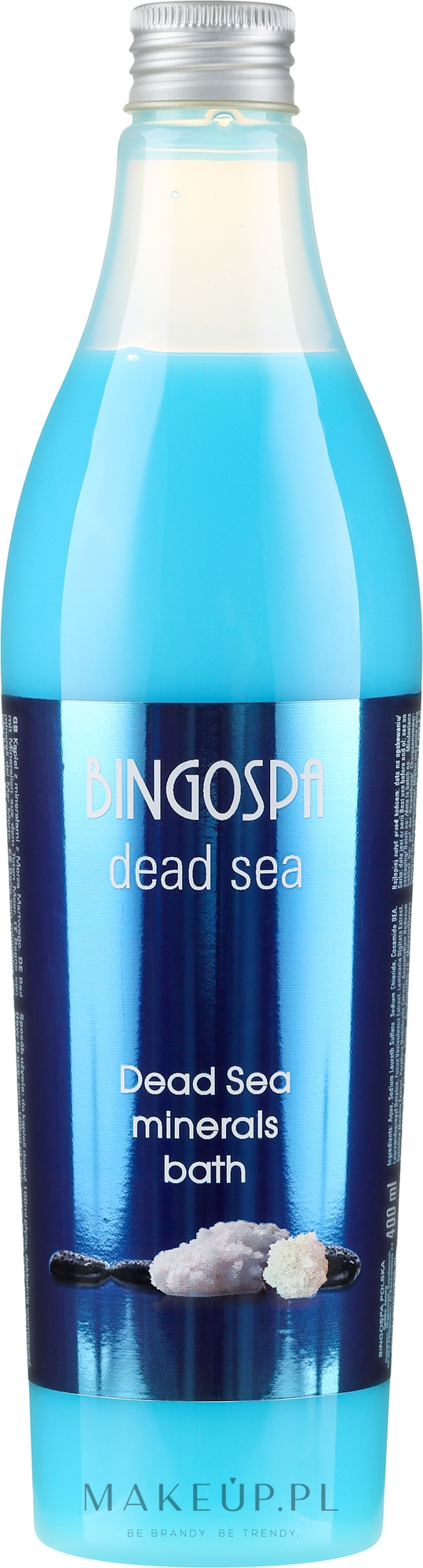 Płyn do kąpieli z minerałami z Morza Martwego - BingoSpa Dead Sea Minerals Bath — фото 400 ml