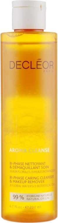 Dwufazowy płyn do mycia i demakijażu twarzy i oczu - Decleor Aroma Cleanse Bi-Phase Caring Cleanser & Make Up Remover — фото N3