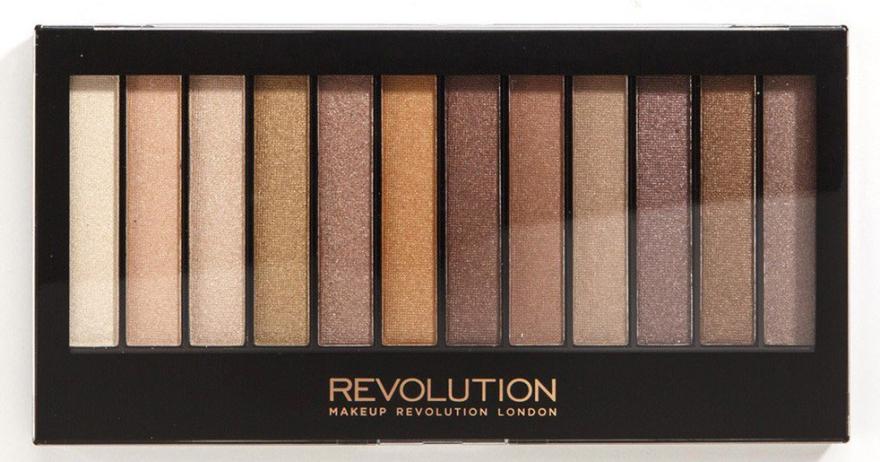 Paleta cieni do powiek - Makeup Revolution Redemption Palette Essential Shimmers