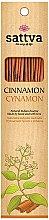 Kup Naturalne indyjskie kadzidła Cynamon - Sattva Cinnamon