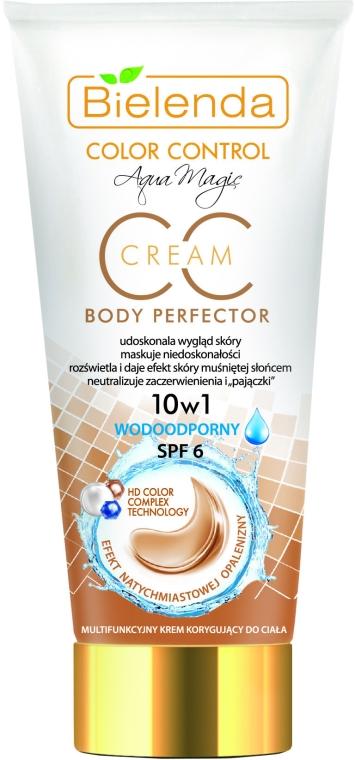 Wodoodporny multifunkcyjny krem korygujący do ciała SPF 6 - Bielenda Color Control CC Cream