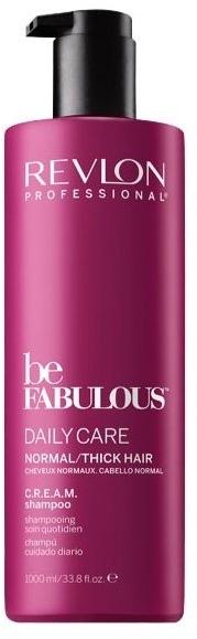 Oczyszczający szampon do włosów normalnych i grubych - Revlon Professional Be Fabulous Daily Care — фото N2