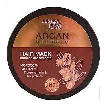 Kup Maska do włosów Odżywienie i moc włosów z dodatkiem olejów arganowego i makadamia - Luxury Oils