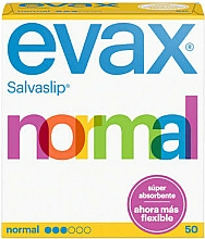 Kup Wkładki higieniczne Normal, 50 szt. - Evax Salvaslip