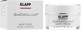 Nawilżajacy krem do twarzy - Klapp Skin Con Cellular Moist Cream — фото N2