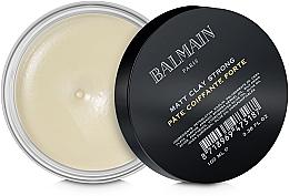 Kup Matująca glinka do stylizacji włosów - Balmain Matt Clay Strong