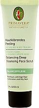 Kup Głęboko oczyszczający peeling do twarzy do cery tłustej i mieszanej - Primavera Balancing Deep Cleansing Face Scrub