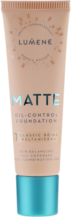 Matujący podkład do twarzy - Lumene Matte Oil-control Foundation