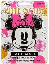 Kup Zmiękczająca maska na tkaninie do twarzy z odżywczym ekstraktem z truskawki - Mad Beauty Disney Minnie Mouse Magic Sheet Face Mask