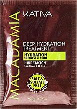 Kup Maseczka głęboko nawilżająca do włosów - Kativa Macadamia Deep Hydrating Treatment
