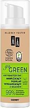 Antybakteryjny nawilżający podkład wygładzający z selerem - AA Go Green — фото N1