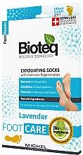 Kup Skarpetki złuszczające do stóp - Bioteq Exfoliating Socks Lavender