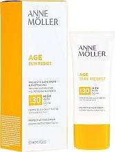 Kup Krem przeciwsłoneczny do twarzy SPF 30 - Anne Möller Age Sun Resist Protective Face Cream