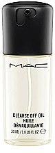 Kup Delikatny olejek do demakijażu twarzy - MAC Cleanse Off Oil Sized To Go