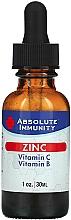 Kup Suplement diety w płynie Cynk, witamina C i B - Absolute Nutrition Immunity Zinc With Vitamin C & Vitamin B