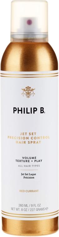 Lakier do włosów z olejkami eterycznymi - Philip B Styling Jet Set — фото N1
