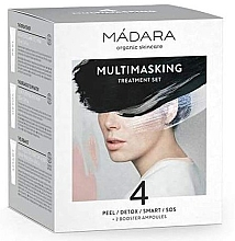 Kup PRZECENA! Zestaw - Madara Cosmetics Multimasking Treatment Set (f/mask/12,5ml*4 + f/ampoule/3ml*2) *