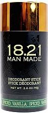 Kup Dezodorant w sztyfcie - 18.21 Man Made Deodorant Stick Spiced Vanilla