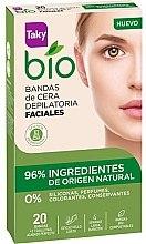 Kup Woskowe paski do depilacji twarzy - Taky Bio Natural 0% Face Wax Strips