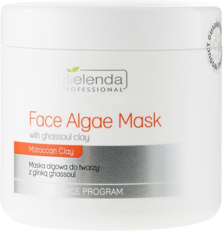 Maska algowa do twarzy z glinką ghassoul - Bielenda Professional Face Algae Mask With Ghassoul Clay — фото N1