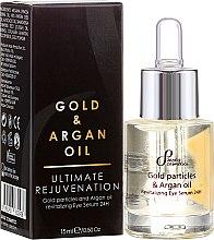 Kup Odmładzające serum rewitalizujące pod oczy z drobinkami złota i olejem arganowym - Sayaz Cosmetics Gold Particles & Argan Oil Revitalizing Eye Serum 24H