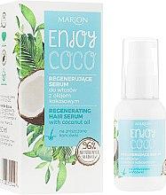 Kup Regenerujące serum do włosów z olejem kokosowym - Marion Enjoy Coco