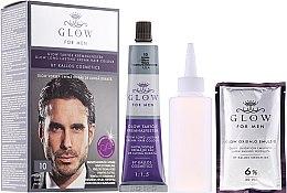 Kup Farba do włosów - Kallos Cosmetics Glow Long Lasting Cream Hair Colour Man