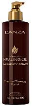 Kup PRZECENA! Olejek do włosów Terapia termalna (krok A) - L'anza Keratin Healing Oil Emergency Service Thermal Therapy Part A *
