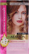 Kup PRZECENA! Koloryzujący szampon do włosów bez amoniaku i utleniaczy - Marion *