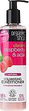 Naturalna odżywka dodająca włosom objętości Malina i acai - Organic Shop Raspberry And Acai Conditioner — фото N1