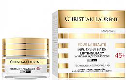 Kup Infuzyjny krem liftingujący wypełniający zmarszczki 45+ - Christian Laurent Pour La Beauté Face Cream 45+