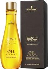Olejek do włosów normalnych i przetłuszczających się - Schwarzkopf Professional BC Bonacure Oil Miracle Finishing Treatment — фото N3