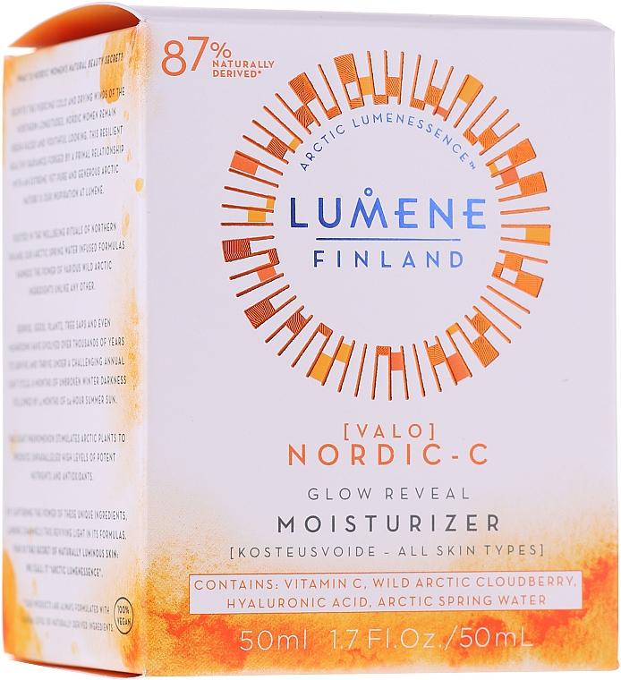 Nawilżający krem rozświetlający - Lumene Valo [Light] Glow Reveal Moisturizer