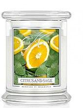 Kup Świeca zapachowa w słoiku - Kringle Candle Citrus and Sage