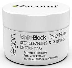 Kup Głęboko oczyszczająca maska detoksykująca do twarzy z węglem aktywnym - Nacomi Vegan