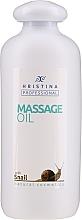 Kup Olejek do masażu ze śluzem ślimaka - Hrisnina Cosmetics Professional Massage Oil With Snail