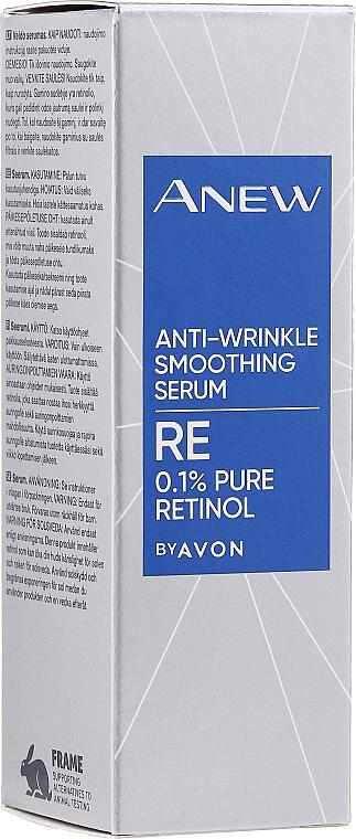 Profesjonalne wygładzające serum przeciwzmarszczkowe z czystym retinolem - Avon Anew Clinical Anti-Wrinkle Smoothing Serum