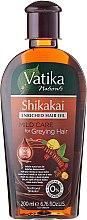 Kup Olejek do włosów - Dabur Vatika Indian Acacia Enriched Hair Oil Mild Care For Greying Hair