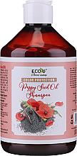 Kup PRZECENA! Szampon chroniący kolor włosów farbowanych z olejem z nasion maku - Eco U Poppy Seed Oil Shampoo *