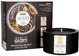 Kup Modułowa świeca zapachowa - House of Glam Black Pepper&Coffee Candle