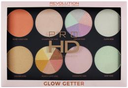 Kup Paletka rozświetlaczy - Makeup Revolution Pro HD Palette Glow Getter