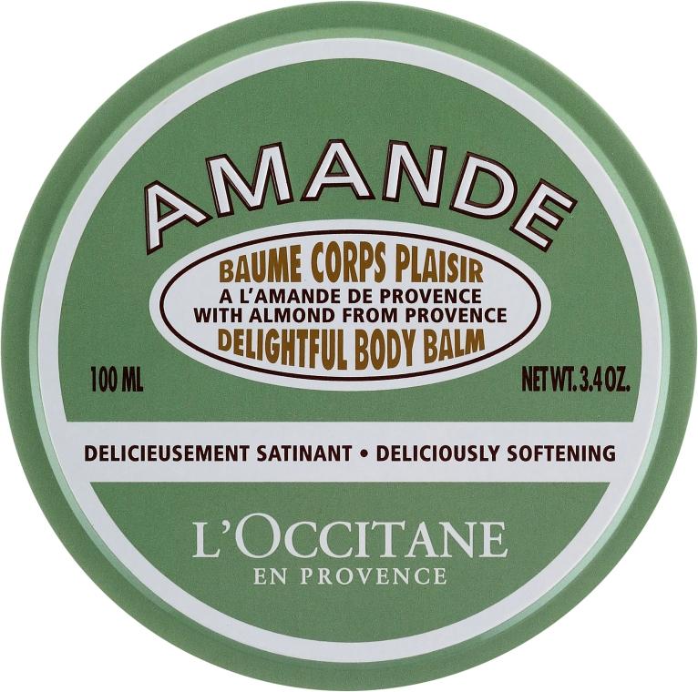Balsam do ciała z olejem ze słodkich migdałów - L'Occitane Almond Delightful Body Balm — фото N1