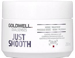 Kup Intensywna maska kontrolująca nieposłuszne włosy - Goldwell Dualsenses Just Smooth 60sec Treatment
